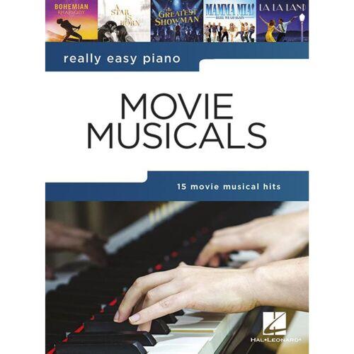 Hal Leonard - Really Easy Piano: Movie Musicals