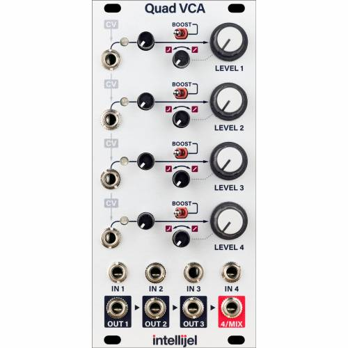 Intellijel - Quad VCA