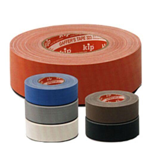 kip Klebebänder - 323 Gaffer's Tape weiß