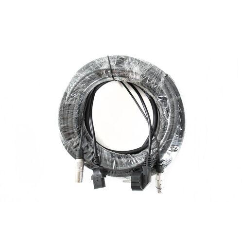 MUSIC STORE - Hybridkabel Audio 15m Schuko-IEC / XLR