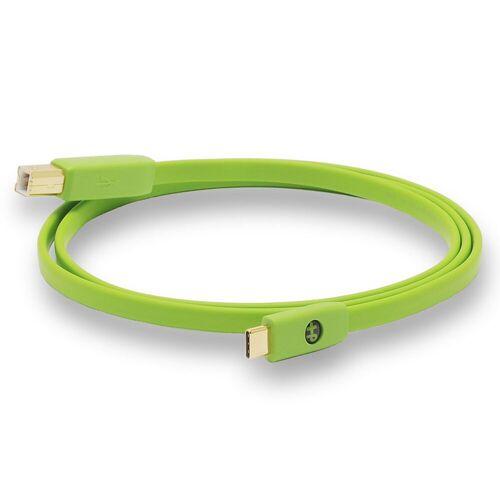 NEO by Oyaide - d+ USB 2.0 Kabel, Typ-C/-B, Class B, 1,0 m Länge