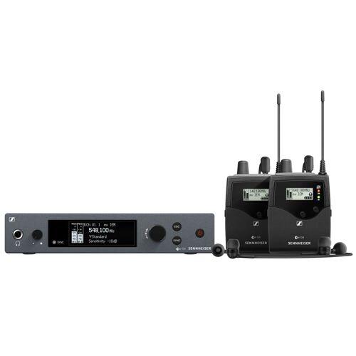 Sennheiser - ew IEM G4-TWIN-E Wireless Monitor Twin Set