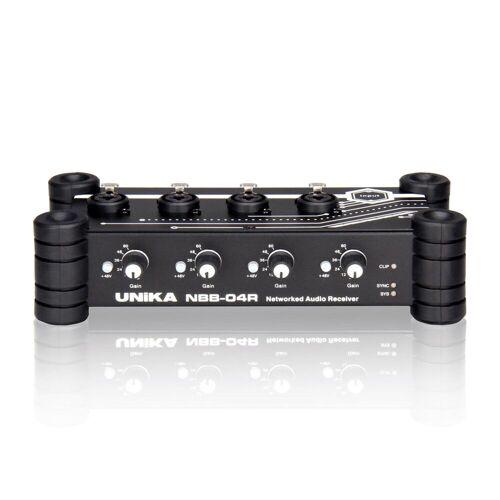 UNiKA - PRO NBB-04r Dantefähiger Audioempfänger