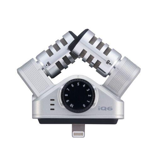 Zoom - iQ6 XY-Stereo Mikrofon für iOS Geräte, Lightning Port