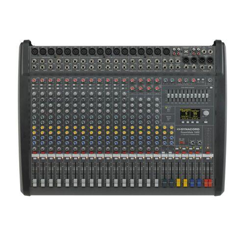 Dynacord - PowerMate 1600-3 Powermixer, 2x 1000 W / 4 Ohm