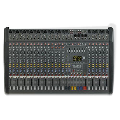 Dynacord - PowerMate 2200-3 Powermixer, 2x 1000 W / 4 Ohm