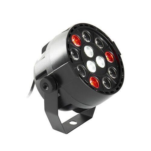 lightmaXX - LED NANO PAR black 12×1W LED RGBW