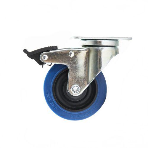 MUSIC STORE - Blue Wheel 100mm lockable