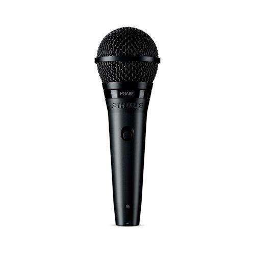 Shure - PGA58-XLR Mikrofon, dyn., 4,5m XLR-Kabel