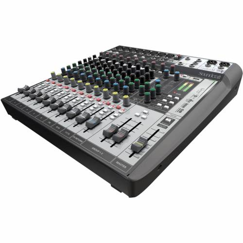 Soundcraft - Signature 12 MTK Mixer inkl.Ableton LiveLite Software