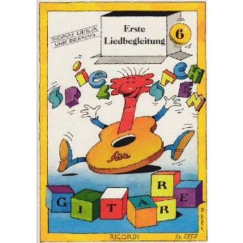 Ricordi Verlag - Erste Liedbegleitung für Gitarre