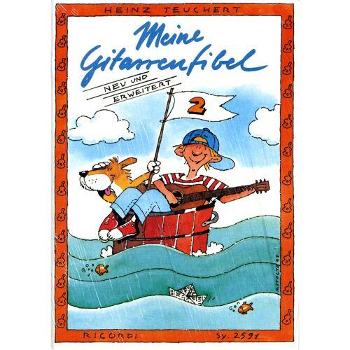 Ricordi Verlag - Meine Gitarrenfibel Bd. 2 Heinz Teuchert
