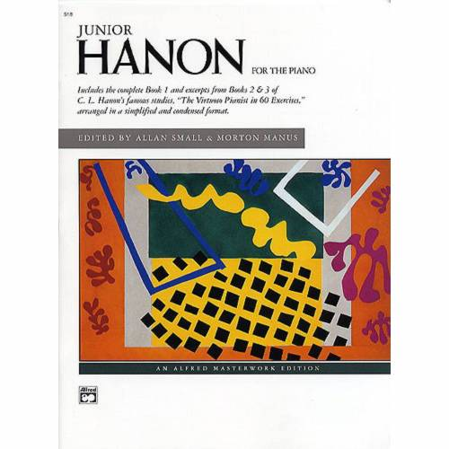 Alfred Music - Junior Hanon for the Piano Charles Louis Hanon, Klavier