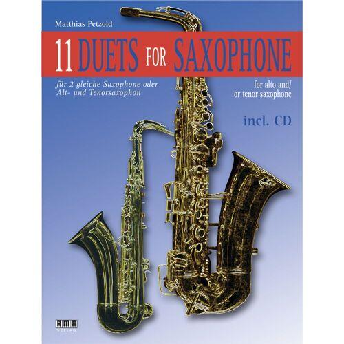 AMA Verlag - 11 Duets For Saxophone Matthias Petzold