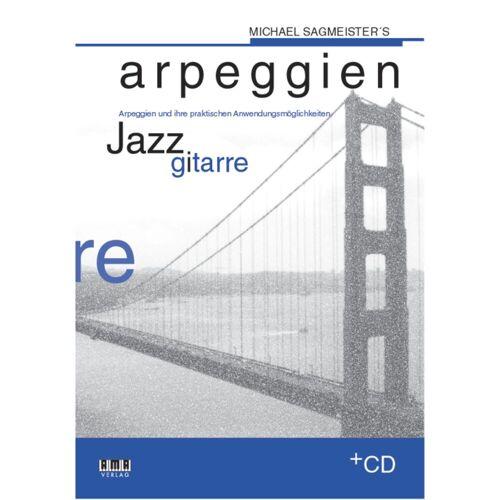 AMA Verlag - Sagmeisters Arpeg. Jazzgitarre Michael Sagmeister,inkl. CD