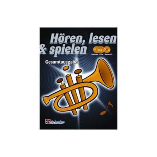 De Haske - Hören, lesen, spielen, Bd. 1-3 Trompete, GA & CD