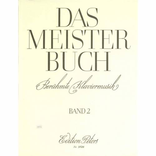 Edition Peters - Meisterbuch 2 Klavier