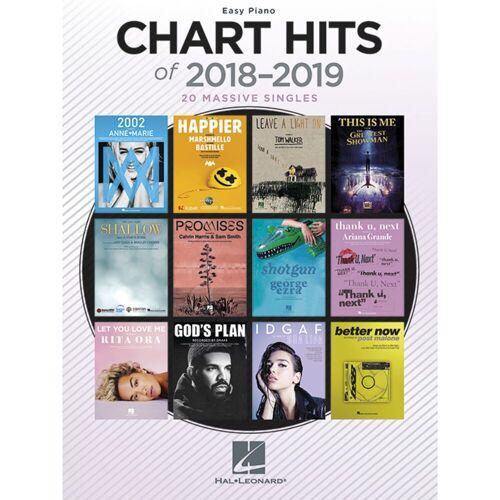 Hal Leonard - Chart Hits Of 2018-2019 Easy Piano