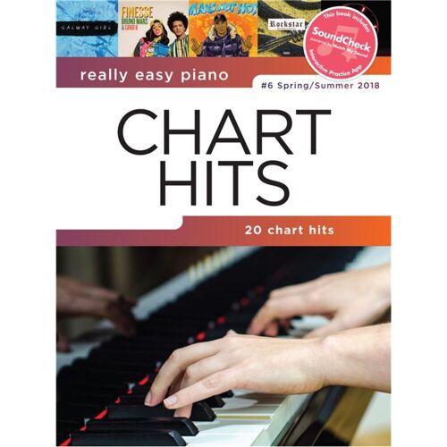 Hal Leonard - Really Easy Piano: Chart Hits Vol. 6