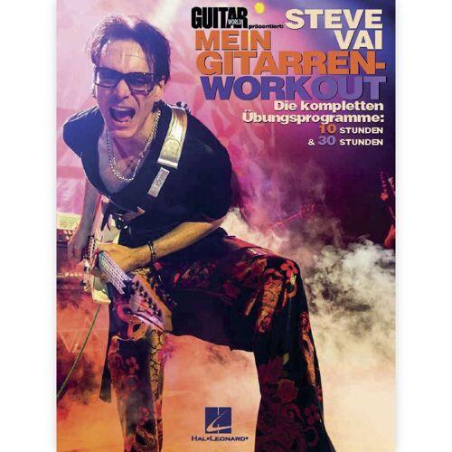 Hal Leonard - Steve Vai: Mein Gitarrenworkout
