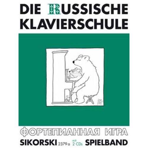 Hans Sikorski - Die Russische Klavierschule 3 A. Nikolajew, Buch & 2CDs