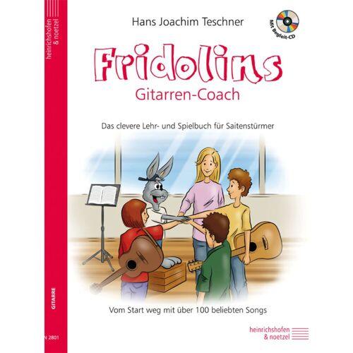 Heinrichshofen - Fridolins Gitarren Coach m. CD Teschner