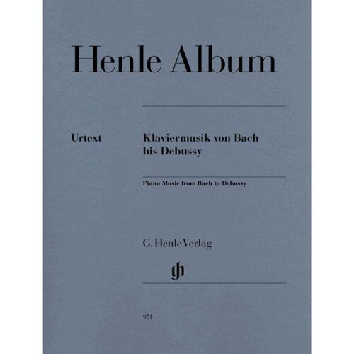 Henle Verlag - Henle Album: Klaviermusik von Bach bis Debussy