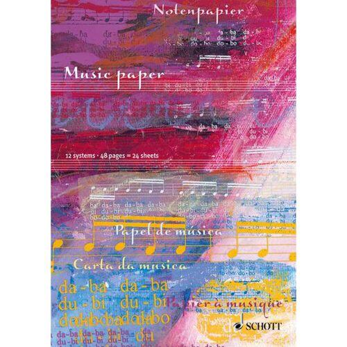 Schott Music - Notenheft DIN A4