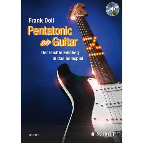 Schott Music - Pentatonic On Guitar Frank Doll