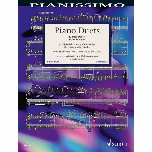 Schott Music - Piano Duets, 4ms Pianissimo