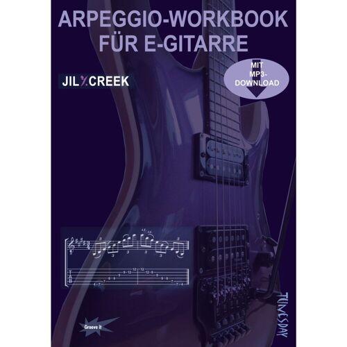 Tunesday - Arpeggio-Workbook für E-Gitarre