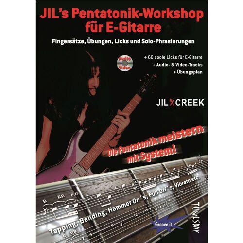 Tunesday - Jil's Pentatonik-Workshop E-Gitarre, Jil Y.Creek, mit CD