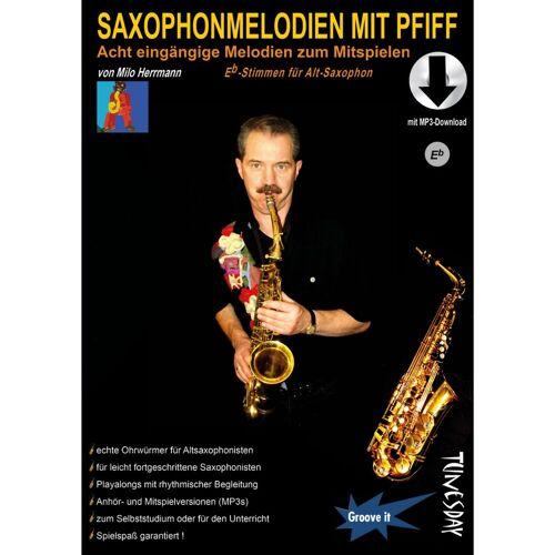 Tunesday - Saxophonmelodien mit Pfiff Alt-Stimmen Milo Herrmann, inkl. Download