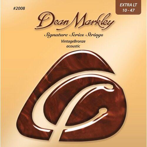 Dean Markley - A-Git.Saiten 10-47 2008 XL VintageBronze Acoustic