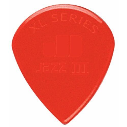 Dunlop - Jazz III XL Plek. rot 1,38mm,6er-Set