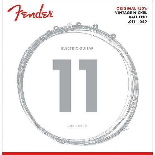 Fender - E-Gitarren Saiten 150M 11-49 Pure Nickel