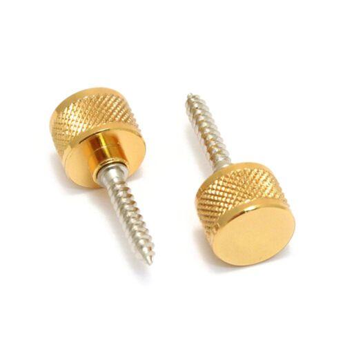 Gretsch - Gurtknopf inkl. Schraube Gold, 2 Stück