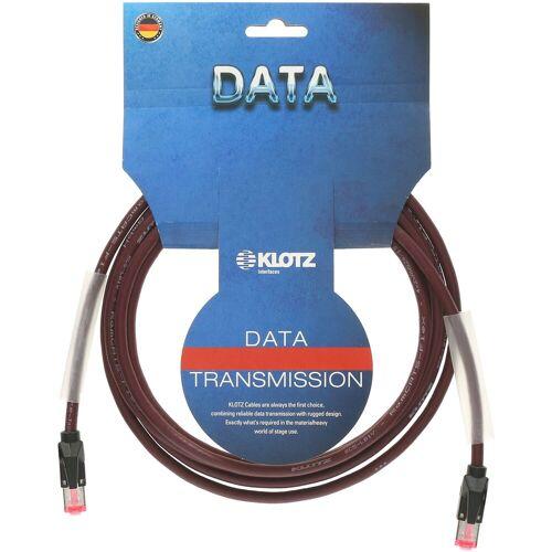Klotz - CAT-Netzwerkkabel, 10 m RJ45 - RJ45, black