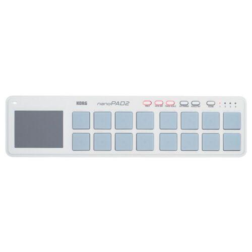 Korg - nanoPAD 2 white MIDI Studio Controller