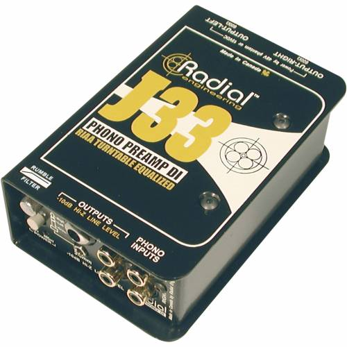 Radial - J-33 Phono Vorverstärker