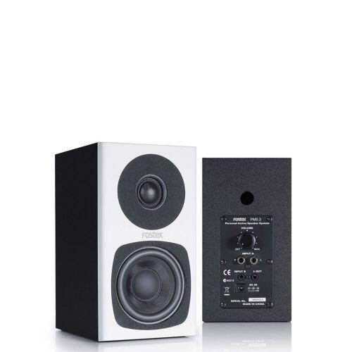 Fostex - PM0.3d white kompakte 2-Wege Studiomonitore