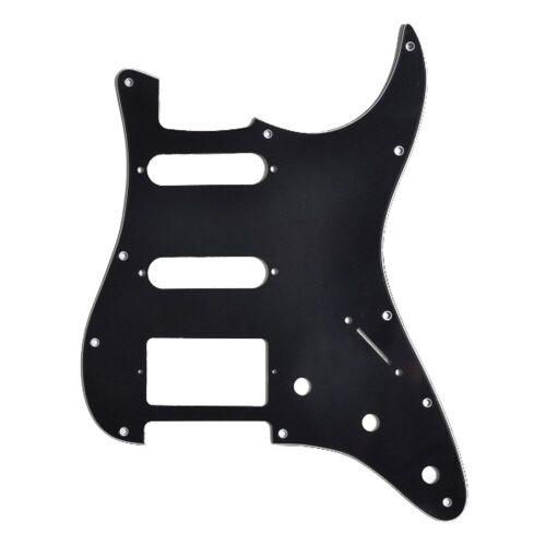 Göldo - Pickguard für HSS ST-Style Black Schlagbrett