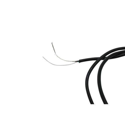Göldo - Kabel Pickup abgeschirmt 2 adrig, 1 Meter, schwarz