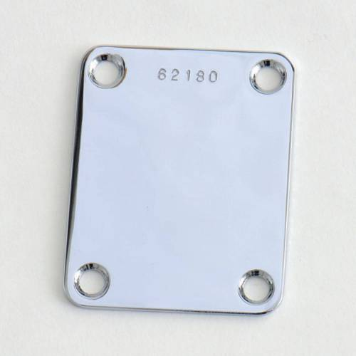 Göldo - Halsplatte Chrom, mit Seriennummer NPSRC