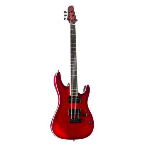 J & D - E-Gitarre 805 TRB Transparent Red Burst