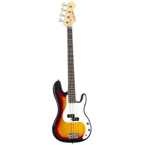 J & D - E-Bass PB 3-Tone Sunburst
