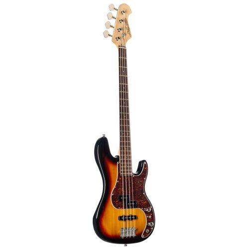J & D - E-Bass PBJ 3-Tone Sunburst