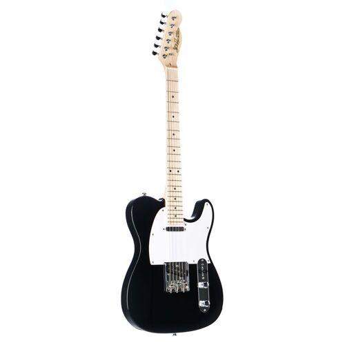 J & D - E-Gitarre TL Black