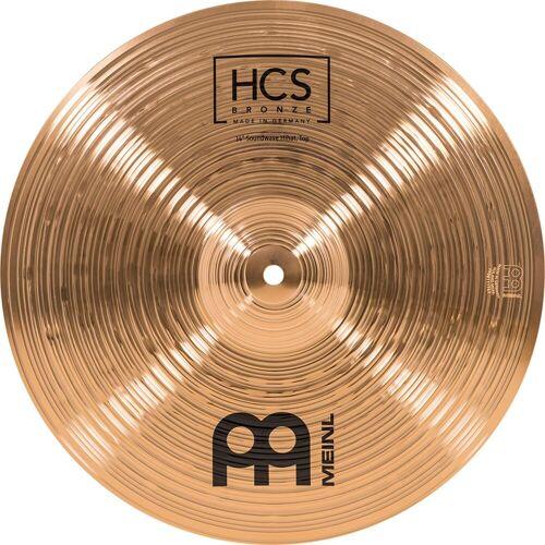 Meinl - HCS Bronze Soundwave HiHat 14