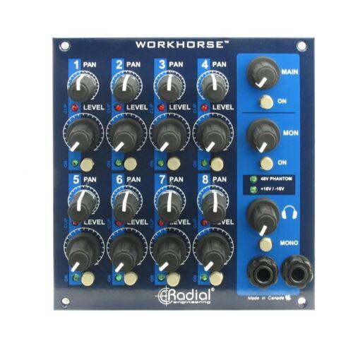 Radial - WM-8  B-Stock 8-Kanal Summing Mixer für Rack